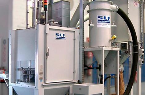 SLF Instalaciones automáticas de granallado