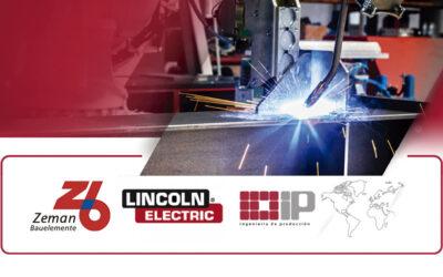 ZEMAN Bauelemente anuncia el acuerdo de partnership con Lincoln Electric.